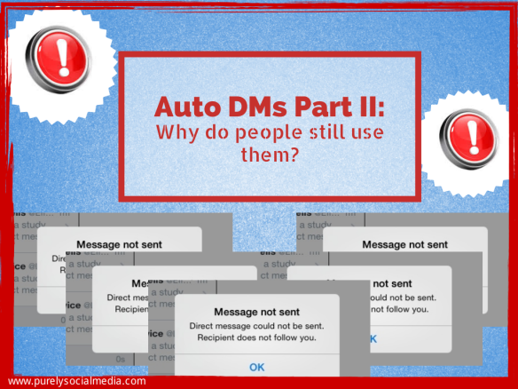 AUTO DMs Part II