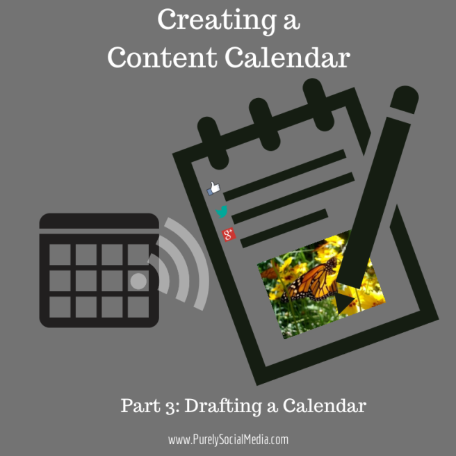 Creating AContent Calendar Part3
