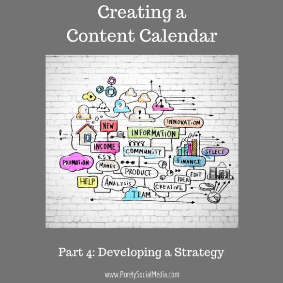 Creating AContent Calendar