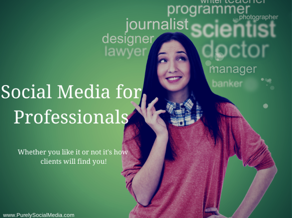 Social Media for Professionals.