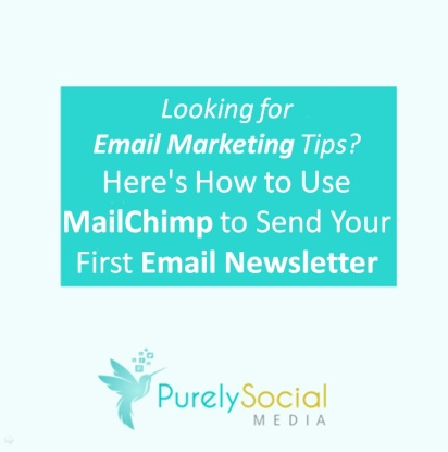 How to Use Mailchimp to send your first email newsletter